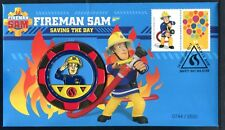 2017 Fireman Sam With Limited Edition Medallion Cover 0744/3500