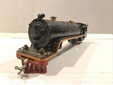 *1929* PREWAR LIONEL TRAINS -BLACK 390E STEAM LOCOMOTIVE SHELL-STANDARD GAUGE VG