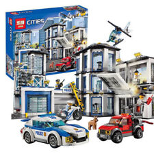 02020 965Pcs City Series The New Police Station Set Building Kits Blocks Toys