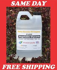 PURE PREMIUM ORGANIC NON-GMO VEGETABLE GLYCERIN 1/2 GALLON USP FOOD GRADE VG