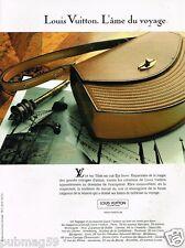 Publicité advertising 1991 Haute couture maroquinerie Louis Vuitton sac à main