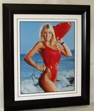"""Donna D'errico Signed """"Baywatch"""" guaranteed authentic A121DD AFTAL DEALER #199"""