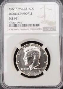 1966 SMS Kennedy DDO (doubled profile) MS67! blast white SP67! -016