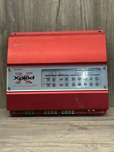 Sony Xplod XM-404EQX Automotive 4/3/2 channel Power Amplifier *READ DESC*