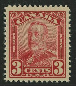 Canada 1928 Admiral 3¢ Dark Carmine Scott #151 MNH  H800