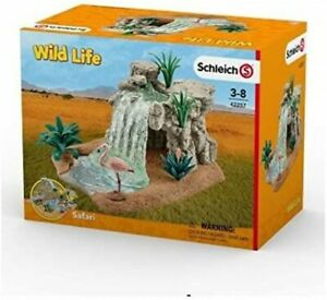 Schleich Wildlife Savannah Waterfall 42257 Toy Figure Collectible Item Hobby PVC