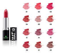 Rouge à lèvres Mat à l'aloe vera - disponible en 12 couleurs