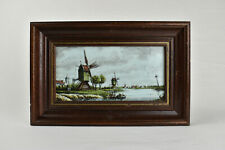 Westraven Delft Polychrome Delftware Wall Tile Limited Edition No. 2/1000