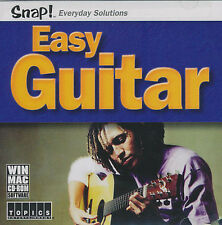 EASY GUITAR Electric Acoustic Music Lessons PC/MAC NEW