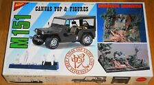 NICHIMO FORD M151 MUTT CANVAS TOP & FIGURES 1:20