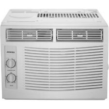 Window Air Conditioner 5000 BTU 2 Speed 3 Way Direction Mechanical AC Mount Fan