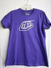 "TROY LEE DESIGNS TLD tee t shirt YOUTH XL ""LOGO"" 2190-1111 purple"
