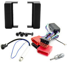 Autoradio Radioblende Set AUDI A3 8Z 8L A4 B5 A6 C5 4B DIN Blende Aktiv Adapter