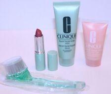 NEW Clinique Makeup Lot Brush Lipstick 22 Pink Beach Facial Soap Moisture Surge