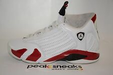 Nike Air Jordan 14 Retro Candy Cane 2012 VNDS Size 8 487471-101 og all