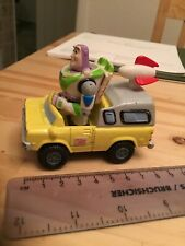 Disney Toy Story Diecast Pizza Planet Vehicle Buzz Lightyear Very Good Condition