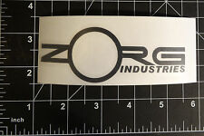 The Fifth Element - Zorg Industries - Vinyl Decal - Multiple Colors