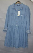 ONLY Denim Blue Dress UK 12 EU 40 New With Tags