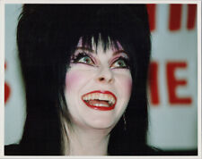 Elvira 1980's 8x10 press photo smiling attending event