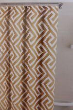 "TOYO Linen Look Fabric Shower Curtain 70"" x 72"" NIP"