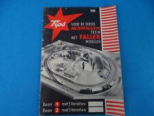 Faller - Märklin 1960 Booklet NL Vedeka