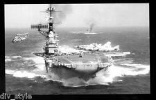 USS Franklin D. Roosevelt CVA-42  postcard US Navy ship aircraft carrier
