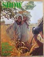 SHOW Magazine April 1970 Clapton Is God LIGHT SHOWS MacKendrick art MODEL PHOTOS