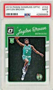 Jaylen Brown 2016-17 Donruss Optic Rookie Card RC, PSA 9 #153