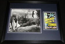 I Walked With a Zombie Framed 11x14 Photo Display James Ellison