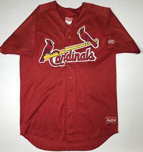 St. Louis Cardinals Game Used Jersey #48