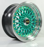 4pcs BBS RS 16 inch Rim Wheel 4X100 / 4X114.3 Alloy wheels Cheap rims HG -3
