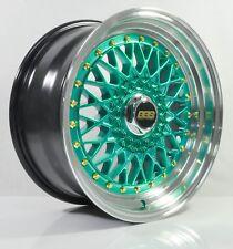 4pcs BBS RS 16 inch Rim Wheel 4X100 / 4X114.3 Alloy wheels Cheap rims HG -3