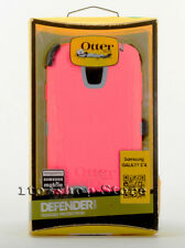 OtterBox Defender Samsung Galaxy S4 Rugged Hard Case w Holster Pink Gray USED