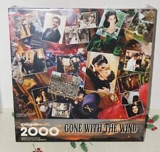 Springbok Puzzle Gone With The Wind PZL9413 2000 Pieces 1995 Sealed