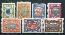 6172) NORDINGERMANLAND 1920 - Mi.Nr. 8 - 14 * 110.-Euro