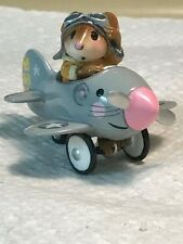 Wee Forest Folk Special Folktoberfest Mouse Pedal Plane, HTF and retired