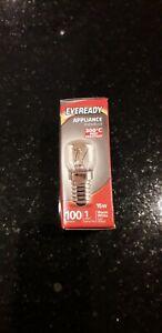 1 x 15 Watt Bulb Pygmy Oven EVEREADY Genuine E14 Salt Lamp SES Screw Cap 300c