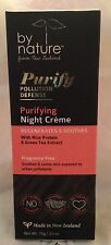 By Nature Purifying Night Creme Rice Protein & Green Tea Extract  2.5 oz  75 g