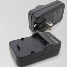 Wall Travl Home Battery Charger For PS-BLM1 Olympus BLM-1 E-330 E-500 E-51 _SX