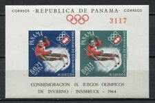 37338) Panama 1964 MNH Winter Olympics, Innsbruck S/S Imperforated