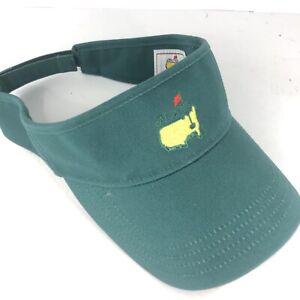 Augusta National Masters American Needle Adjustable Green Golf Visor