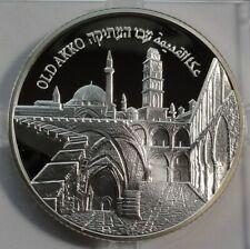 ISRAEL 2010 2 NEW SHEQEL OLD AKKO Silver RARE !!