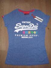 Camisetas de mujer Superdry color principal azul