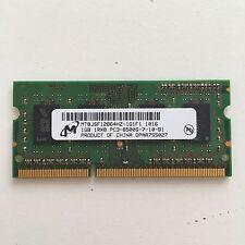 MICRON 1GB 1RX8 PC3-8500S-7-10-B1 MT8JSF12864HZ RAM MACBOOK LATE 2009 MID 2010