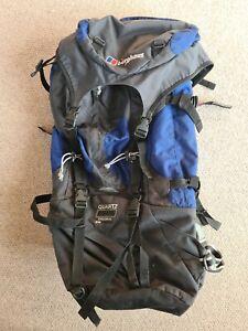 Berghaus Large Rucksack Bag Backpack Quartz 65+ 15 Cyclops 111 Evabreathe Blue