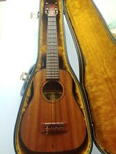 Sonny D Handmade Koa Ukulele - Made in Hawaii, Semi-Retired Master Craftsman