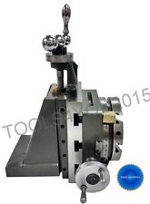 "4"" (100mm) ROTARY TABLE FOR MYFORD LATHE VERTICAL SLIDE + FIXED VERTICAL SLIDE"