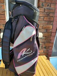 Powakaddy golf bag with Hood