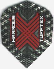 Red TUFFTEX Dimplex Dart Flights: 3 per set