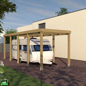 Carport 3x8 für Caravan, Wohnwagen + Wohnmobil, Schneelast bis 200 Kg/qm möglich